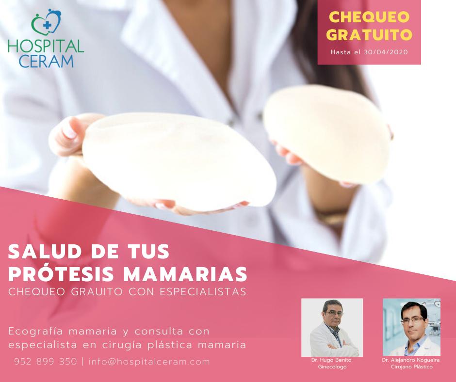 Salud de tus prótesis mamarias