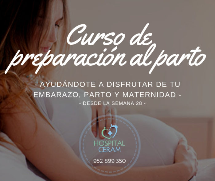 Curso de preparación al parto en Hospital Ceram Marbella